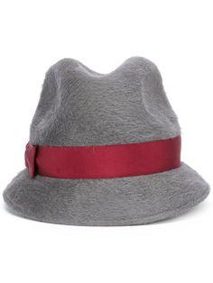 ea3e6b97678 Borsalino Bow Detail Hat - Farfetch