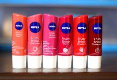 Nivea Fruity Shine Lip Balm Cherry, Pomegranate, Watermelon, Strawberry, Pink Guava, Peach review (2)