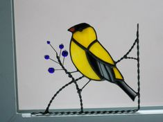 Goldfinch Window Corner