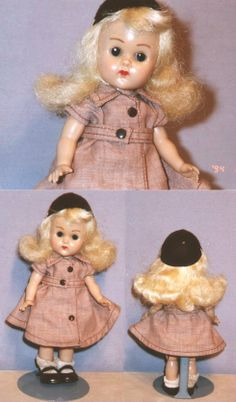 !950's Ginny doll in Brownie outfit.  I loved my Ginny doll and got a different outfit each month in the mail.
