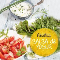 Salsa de yogurt o #Tzatziki #ensaladas #receta