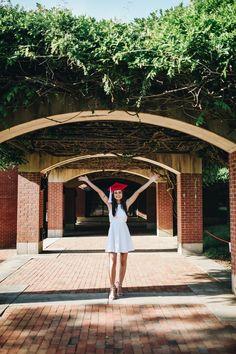 Nursing Graduation Pictures, College Graduation Pictures, Graduation Picture Poses, Grad Pics, Graduation Dresses, Senior Portraits, Senior Pictures, Senior Pics, North Carolina Colleges