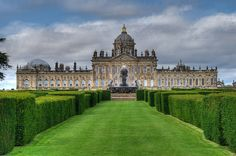 Castle Howard. North Yorkshire. England. This is truly the stuff that dreams are made of.