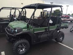 New 2016 Kawasaki Mule Pro-FXT EPS LE ATVs For Sale in Oregon. 2016 Kawasaki Mule Pro-FXT EPS LE, NO freight or set up fees. Call 503-769-8888 2016 Kawasaki Mule Pro-FXT EPS LE THE KAWASAKI DIFFERENCE KAWASAKI STRONG OUR FASTEST, MOST POWERFUL SIX-PASSENGER MULE EVER The new 2015 Mule PRO-FXT has incomparable strength and endless durability backed by over a century of Kawasaki Heavy Industries, Ltd. engineering knowledge. Go and get the job done with the PRO FXT's three-passenger Trans-Cab…