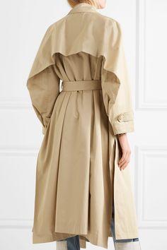 Koché | Cotton-gabardine trench coat | NET-A-PORTER.COM