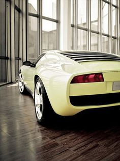 Paying homage to the classic Lamborghini Miura.