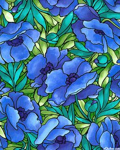 Fabric Freedom Deco Delight Oriental Poppy