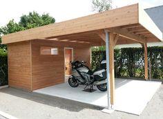carport ossature bois douglas naturel carport jardins des 3 rivi res pinterest bois. Black Bedroom Furniture Sets. Home Design Ideas