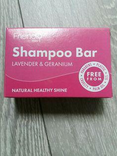 Shampoo Bar Lavander & Geranium 95g £4.90 Free Delivery #friendly Tea Tree Shampoo, Shampoo Bar, Beard Shampoo, Hair Shampoo, Sls Free Shampoo, Orange Roses, Lavander, Palm Oil, Geraniums