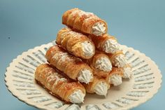 creme rolls from afghan desserts made simpe book