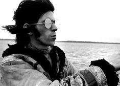 Keith Richards on a boat from London to Isle of Wright © Michael Cooper, 1967