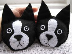 Boston Terrier Rice Filled Hand and Pocket Warmers