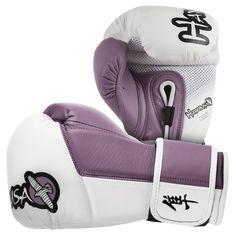 Amazon.com : Hayabusa Tokushu Gloves, White/Burnt Crimson, 10-Ounce : Training Boxing Gloves : Sports & Outdoors