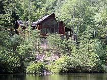 Pigeon Forge, TN: Pigeon Forge chalet rentals: Reflections - Wears Valley Chalet 150 is a secluded 1 bedroom, 1 1/2 bath chalet located about 7 miles from downtown Pige...