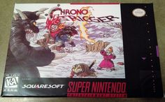 Chrono Trigger (Super Nintendo, SNES) - Reproduction Cart w/ Custom Mini Box NEW | eBay