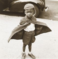 Jerome Liebling, Butterfly Boy, New York, 1949.