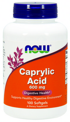 NOW Supplements, Caprylic Acid 600 mg, Medium-Chain Triglycerides, 100 Softgels Uses For Vicks, Vicks Vaporub Uses, Healthy Environment, Cold Remedies, Nutritional Supplements, Healthy Weight Loss, Herbalism, The Cure, Brain