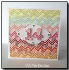 Handmade sweet 16 birthday card girls 16th birthday card teen girl a little chevron add an age voilahandmade birthday card for a teenager by osonia designs bookmarktalkfo Gallery