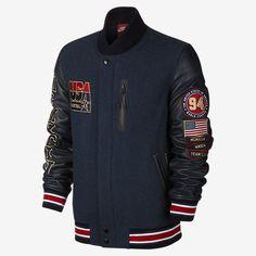 Nike Team USA Destroyer Men's Basketball Jacket. Nike Store