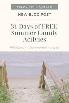 In a world where most of us spend a lot of time looking at screens instead of truly interacting in meaning fun ways, it is important to keep family time a priority. Read my newest blog post for 31 days of family activities for the whole family to enjoy!
