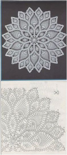 Kira scheme crochet: pineapple