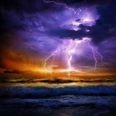 Free art print of Lightning and storm on sea. Lightning and storm on sea to the sunset - bad weather Storm Photography, Nature Photography, Sea Storm, Destinations, Free Art Prints, It Goes On, Celestial, Print Pictures, Nature Pictures