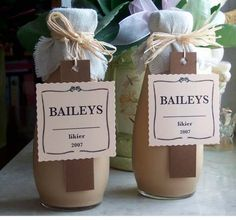 Domowy likier Baileys Liqueurs, Irish Cream, Chutneys, Baileys, Mixed Drinks, Sweet Recipes, Holiday Recipes, Smoothies, Cocktails