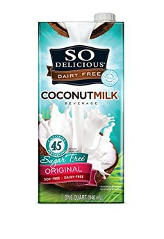 SO DELICIOUS Organic Coconut Milk Beverage Sugar Free 32 Ounce -- Visit the image link more details. (Note:Amazon affiliate link)