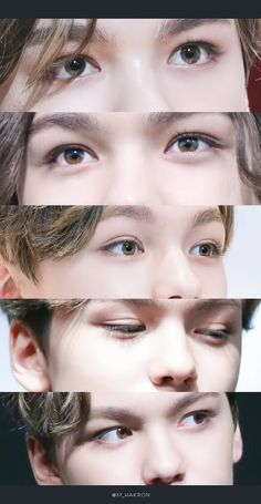 His eyes are gorgeous  -@BeautyandthePoet | ; @exulansis on pinterest ♕ #SEVENTEEN #HANSOL #VERNON