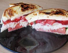 The Hungry Girl's Club: Turkey Strawberry & Brie Sandwich