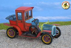 Packard Landaulet 1912 Paper Car Free Vehicle Paper Model Download