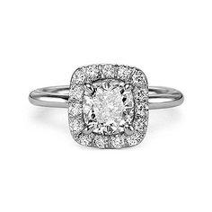 2.31 ct E VS2 CUSHION CUT DIAMOND ENGAGEMENT RING At-http://www.larrysfinejewelryinc.com