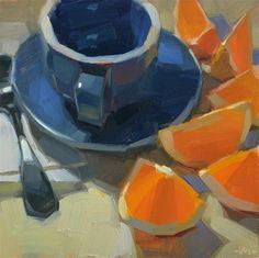 """Crowded Around"" - Original Fine Art for Sale - � Carol Marine"