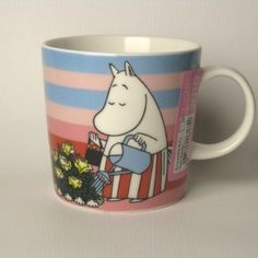 Tove Jansson, Moomin Mugs, Moomin Valley, Finland, Saturday Morning, Sunday, The Creator, Pink Stuff, Tableware
