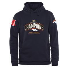 Men s Denver Broncos Super Bowl 50 Champions Design Your Own Pullover Hoodie 943a44127