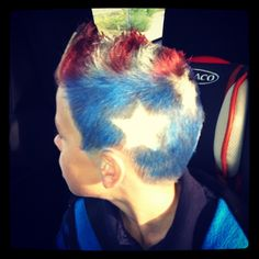 Patriotic Hair/ Crazy Hair Day