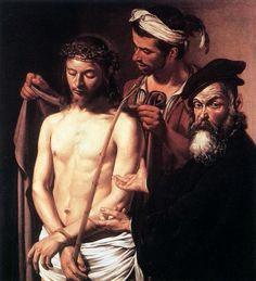Ecce Homo - Caravaggio, 1605.