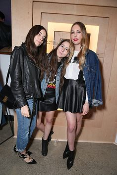 Danielle Haim, Alana Haim, and Este Haim