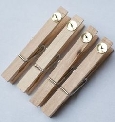 Pinterest Pick: Glue tacks to clothespins to hang student work on bulletin boards