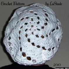 $4.25 Crochet Food Snood Hair Cover Pattern