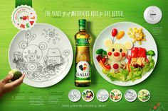 Rafael Gil on Behance Concept Board, Old Art, Design Reference, Make It Simple, Behance, Healthy Recipes, Plates, Eat, Advertising
