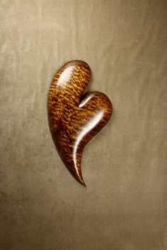 Heart Wood Carving, Gift by Gary Burns the treewiz Handmade...