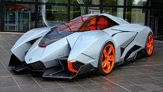 Lamborghini Egoista:  Bonkers one-off 600bhp single-seater concept is on permanent display in Lambo's museum