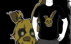 ======= Shirt for Sale ======= Golden Bonnie Head Five Nights at Freddy's Shirt by Kaiserin. ========================= #FNAF