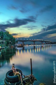 Ponte Punta Penna nel Taranto, Puglia