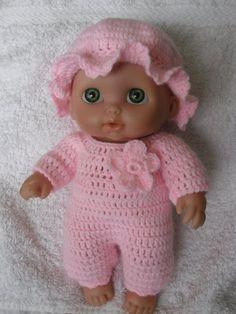 Crochet pattern for Lil Cutesies Berenguer 8.5 doll by petitedolls