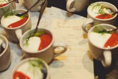 Chocolate Pot de Creme served with Lindemans Kreic Lambic Prepared by Chef Randall Prudden