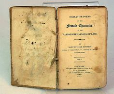 1813 New York publication of poems by major British poet, Mary Russell Mitford