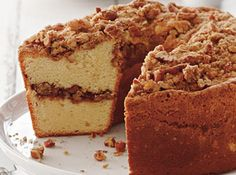 Coffee Cake Pound Cake - Southern Living
