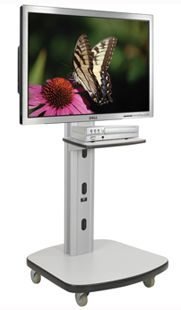Flat Screen TV Stand With Tilting Mechanism